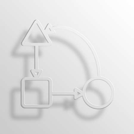 worst: business plan 3D Paper Icon Symbol Business Concept No.10677 Stock Photo