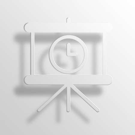 Loading slides 3D Paper Icon