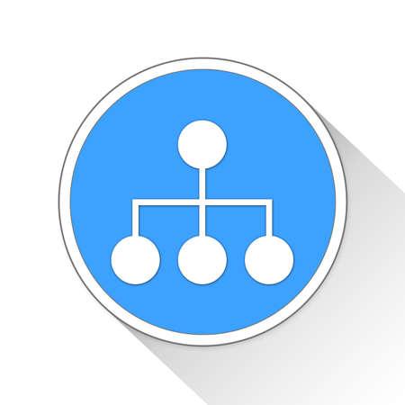 estimation: organization Button Icon Concept No.11400