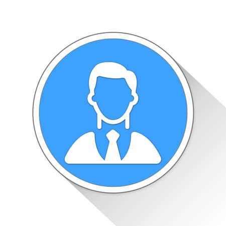 investor: investor Button Icon Concept No.11395