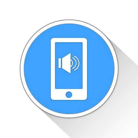 loud: loud Button Icon Concept No.12777 Stock Photo