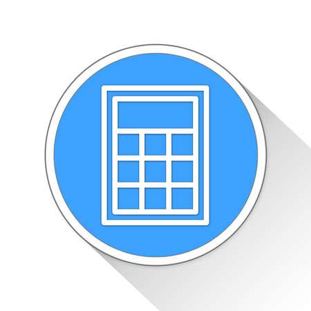 addition: Calculator Button Icon Concept No.8530