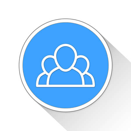 troop: group Button Icon Concept No.8215 Stock Photo