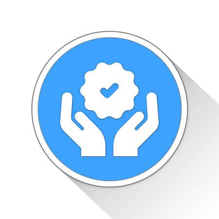 verified: verified Button Icon Concept No.7577