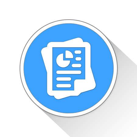 documentation: documents Button Icon Concept No.3613 Stock Photo