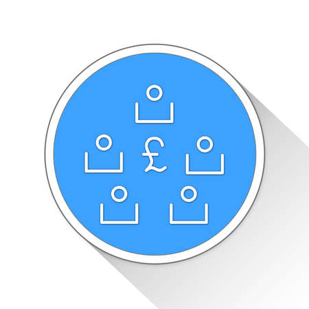 investor: Stakeholders Button Icon Concept No.12015