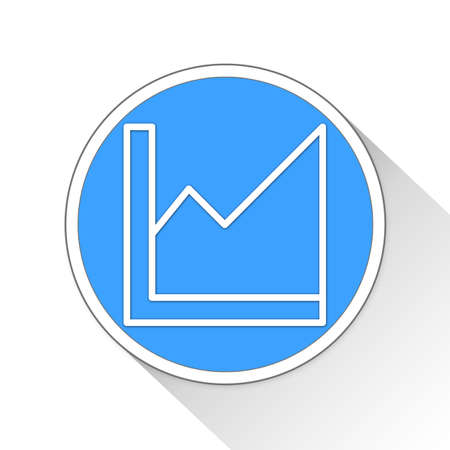 statistic Button Icon Concept No.1104