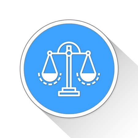 scale icon: Scale Button Icon Concept No.10663