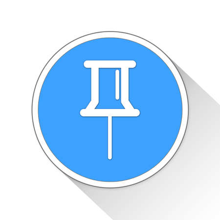 tack: thumb tack Button Icon Concept No.9277