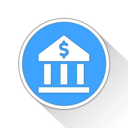 Bank Button Icon Concept No.9937