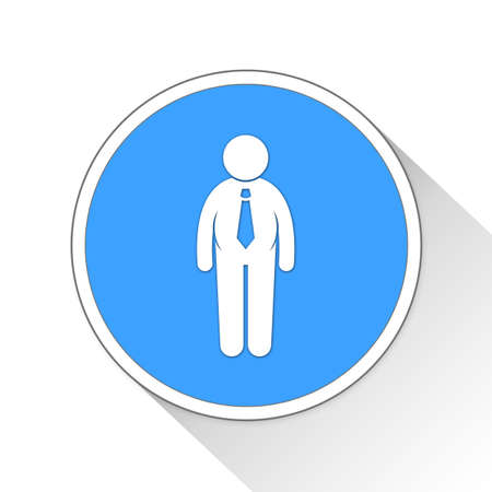 general: General Manager Button Icon Concept No.5364 Stock Photo