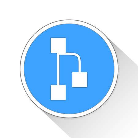 chart Button Icon Concept No.3081 Stock Photo
