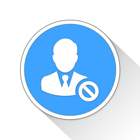 banned: banned Button Icon Concept No.9846