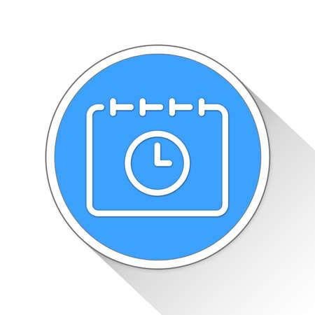 calendar icon: Calendar Button Icon Concept No.707