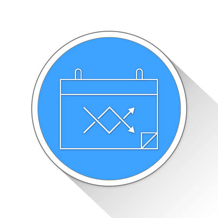 calendar icon: Calendar Button Icon Concept No.5685