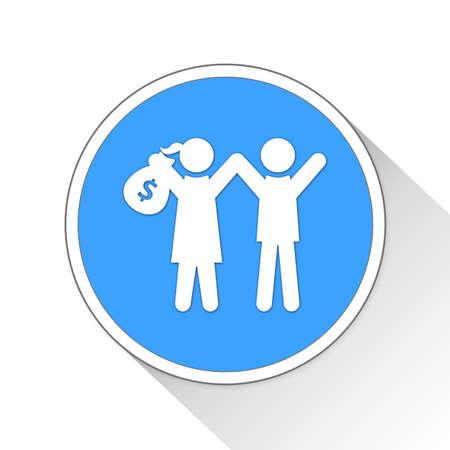 earn money: earn money Button Icon Concept No.14480