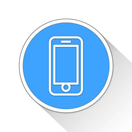 Smartphone Button Icon Concept No.13373