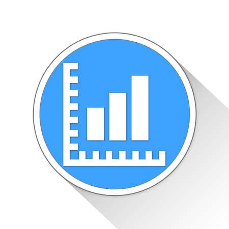 bar ware: analytics Button Icon Concept No.11384 Stock Photo