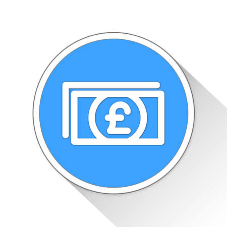 outbreak: pounds Button Icon Concept No.11343 Stock Photo
