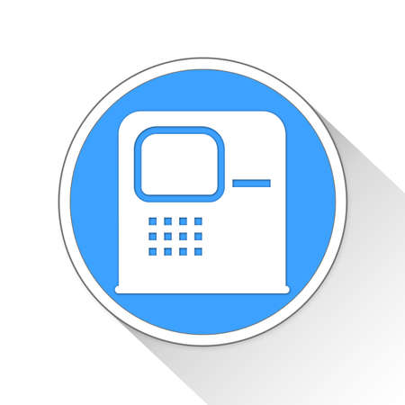 solid: ATM Button Icon Concept No.12389