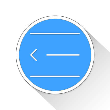 indent: indent Button Icon Concept
