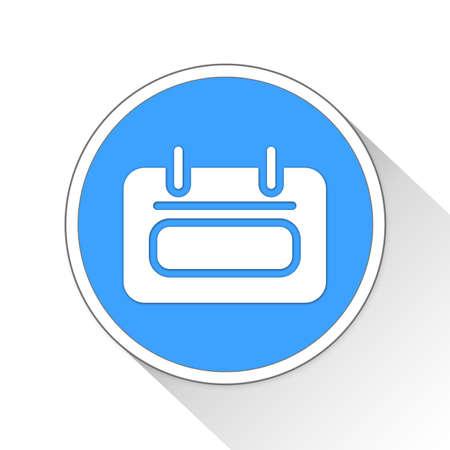 calendar icon: Calendar Button Icon Concept No.13052