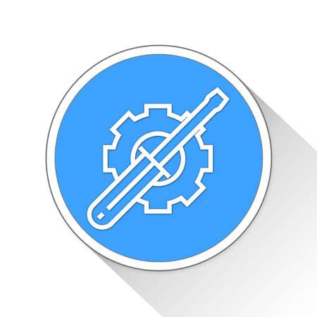 configuration: configuration Button Icon Concept Stock Photo