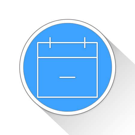 calendar icon: Calendar Button Icon Concept No.5556 Stock Photo