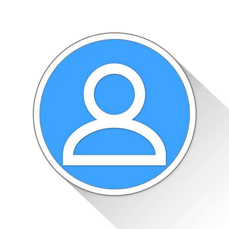profile Button Icon Concept No.9743