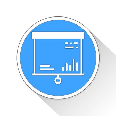 overall: presentation Button Icon Concept No.9685