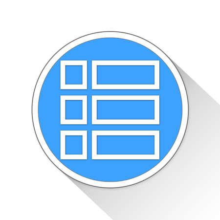 newsfeed: Checklist Button Icon Concept No.9156