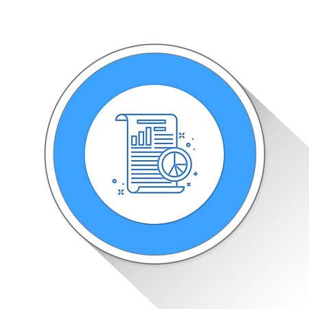statics: report Button Icon Concept No.1432