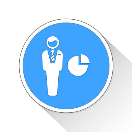 investor: investor Button Icon Concept No.2302
