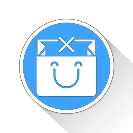 purchased: Shopping Bag Button Icon Concept No.11045