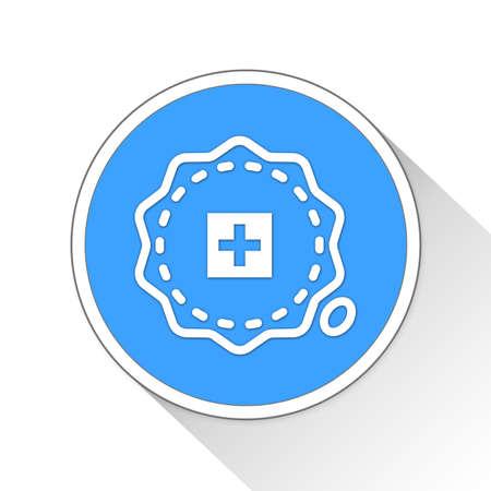 schweiz: Seal Button Icon Concept No.14487