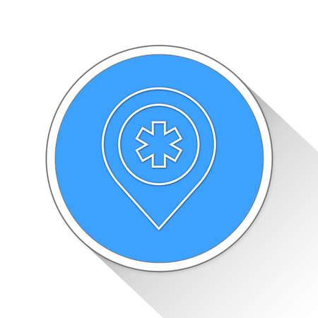 healer: Pharmacy Button Icon Concept No.11704