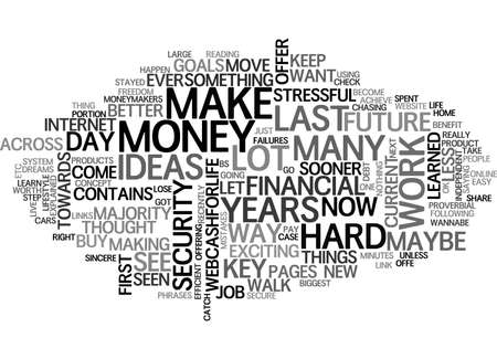 A BETTER WAY MAYBE THE ONLY WAY TEXT WORD CLOUD CONCEPT Illustration