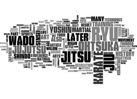 WADO RYU KARATE PART I의 세 번째 텍스트 단어 구름 개념의 간략한 역사