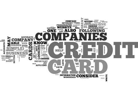 テキストの単語の概念はクラウドを信頼できるクレジット カード会社  イラスト・ベクター素材