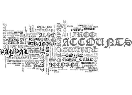 A GUIDE TO ONLINE PAYMENT PROCESSORS TEXT WORD CLOUD CONCEPT Ilustração