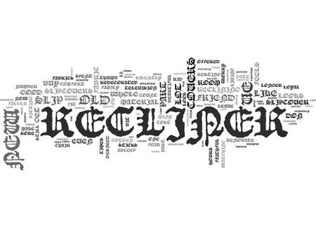 A GUIDE TO RECLINER SLIP COVERS TEXT WORD CLOUD CONCEPT Illustration