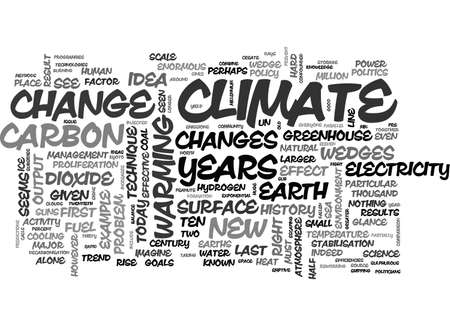 A NEW SCIENCE FOR A NEW CLIMATE TEXT WORD CLOUD CONCEPT Illustration