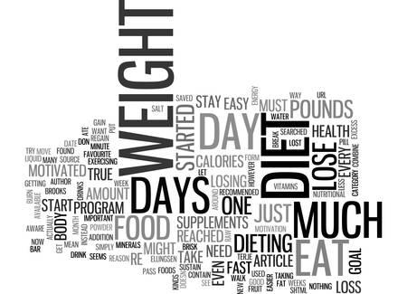 すべて他の日テキスト WORD クラウドの概念をダイエットすることができます 1 日ダイエット