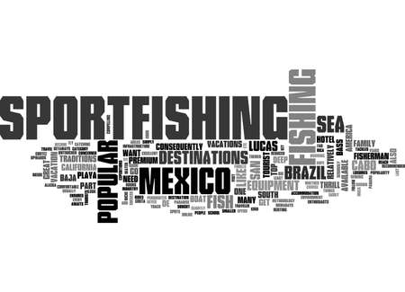 A PARADISE AWAITS IN MEXICO TEXT WORD CLOUD CONCEPT