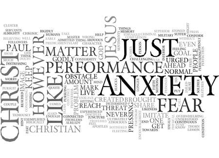 atrocious: A LESSON FROM THE PAST PRESS ON TEXT WORD CLOUD CONCEPT Illustration
