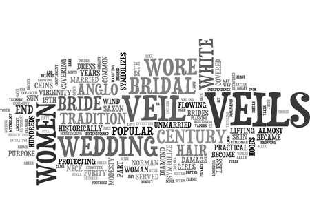 unmarried: A LITTLE BIT ABOUT THE BRIDAL VEIL TEXT WORD CLOUD CONCEPT