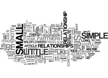 A LITTLE GOES A LONG WAY TEXT WORD CLOUD CONCEPT