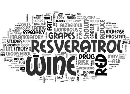 A LITTLE RED WINE COULD TAKE YOU A LONG WAY TEXT WORD CLOUD CONCEPT Ilustração