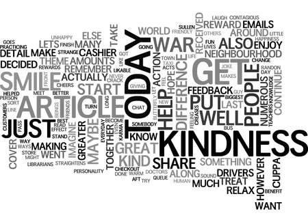 A LITTLE SMILE GOES A LONG WAY TEXT WORD CLOUD CONCEPT