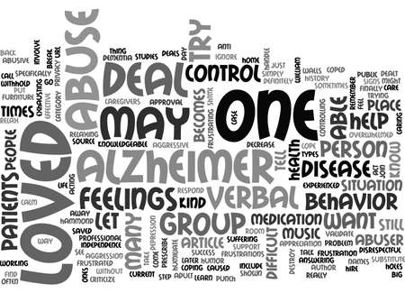 ALZHEIMER S DISEASE THE HORRIFIC STEALER TEXT WORD CLOUD CONCEPT
